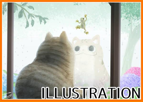梅雨とネコ様(+メイキング映像)